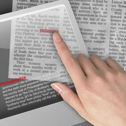 百科全書 = Google可攜式搜尋面板 + 維基百科
