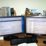 希望辦公室整個乾乾淨淨,常用的東西則放在架上備用